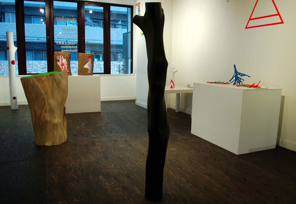 installation view at excube