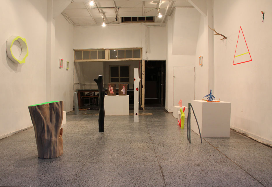 installation view at art space tetra